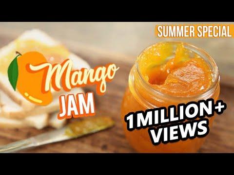 Mango Jam Recipe | How To Make Jam At Home | Fruit Jam Recipe | Alphonso Mango | Varun Inamdar