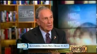 Bloomberg On Gun Control On Meet The Press
