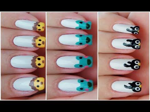 03 UNHAS DECORADAS DE BICHINHOS (Mais Fáceis do Mundo) - Nails Art of Pets  Gersoni Ribeiro