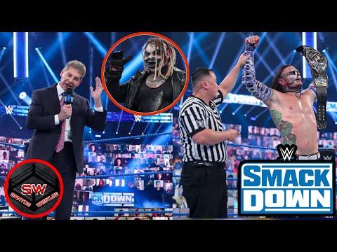WWE LLEGA AL THUNDERDOME!!, SMACKDOWN 21 DE AGOSTO 2020
