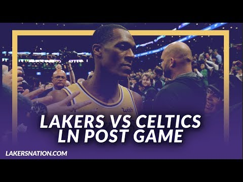 Video: Lakers Discussion: Lakers Beat the Celtics, Rondo Hits Game Winner, Trade Deadline Talk