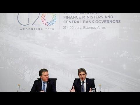 G20: Ο εμπορικός πόλεμος απειλεί την ανάπτυξη