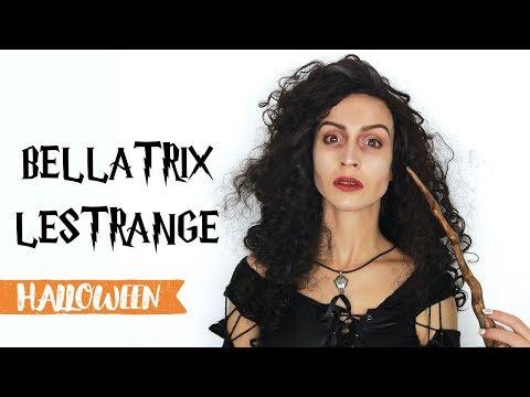 Maquillage d'Halloween : Bellatrix Lestrange