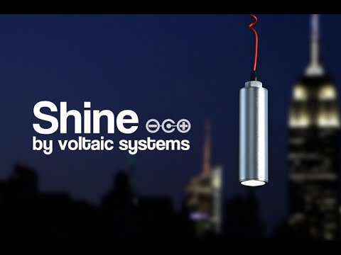 Shine: A Better, Brighter Solar Light + USB Charger
