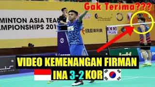 Video Comeback is Real! Full Firman Abdul Kholik vs Lee Dong Keun - Badminton Asia Team Championships 2018 MP3, 3GP, MP4, WEBM, AVI, FLV Mei 2018