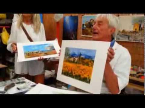 Wie man Landschaft malt