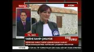 Başak Kamacı AA Muhabiri Bahri Aşık'ın Yaptığı haber üzerine Yeniasır TV'de