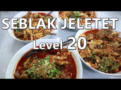 2 VS 1 | MAKAN 4 MANGKOK SEBLAK JELETET MURNI Lvl 5 Ft Enjoyaja | Special 80K Subs