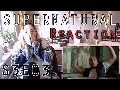Supernatural Reaction 3x03