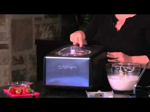 Commercial ice cream maker Cuisinart ICE-100 Best in US