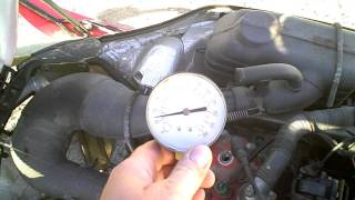 6. LOT 1808A 1997 Yamaha Vmax SX 700 Triple Engine Compression Test