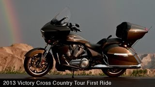 8. MotoUSA First Ride: 2013 Victory Cross Country Tour