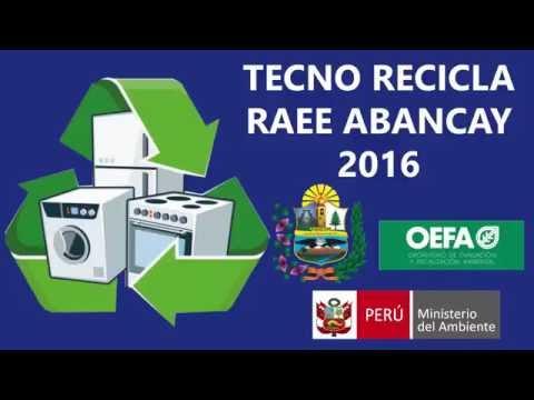 CONTINUAMOS CON LA CAMPAÑA TECNO RECICLA RAEE ABANCAY 2016.