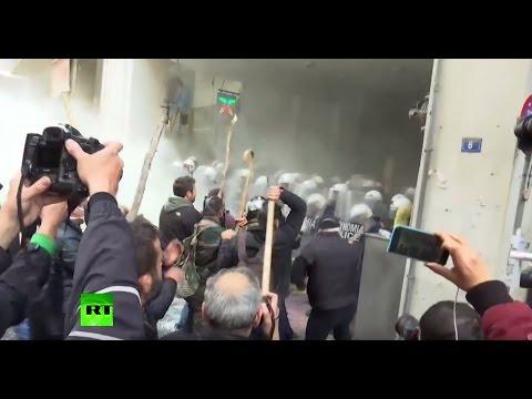 Novi neredi na protestima zemljoradnika u Atini