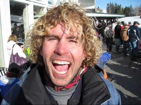 SnowboardSecretsTV - The Washed Up Cup of Snowboarding went DOWN at Stratton Mountain on March 20, 2009. Chat with 1st place race winner Troy Collins as he holds his giant trophy...