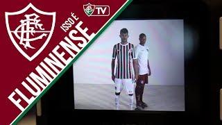 Confira o primeiro bastidor das sessões de fotos e filmagens para divulgação da nova camisa do Fluminense.