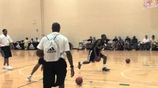Alec Burks - Around the Key Dunking Drills