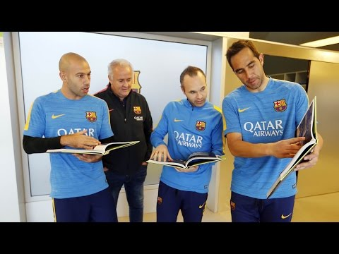 'A Historic Treble': The New Book Of FC Barcelona Players