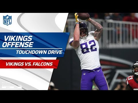 Video: Minnesota Converts Multiple 3rd Downs on this Clutch TD Drive! | Vikings vs. Falcons | NFL Wk 13