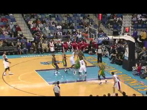 Marcus Camby's putback dunk against Hornets