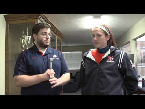 C-N Softball: Sarah Howard postgame LMC 2-6-14