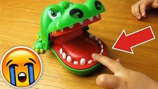 Крокодил довел мою дочь до слез! Крокодил челлендж!