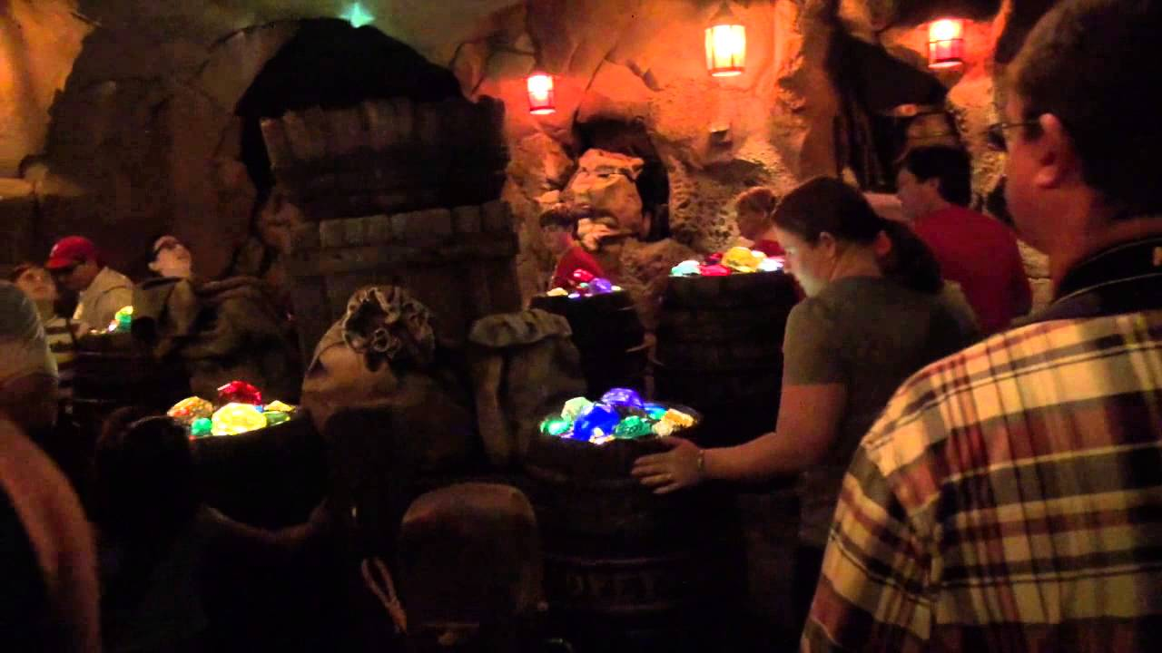 Seven Dwarfs Mine Train soft opening walkthrough and POV ride through