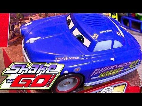 25 Shake n go CARS Collection Doc Hudson Disney Lightning McQueen, Mater, Ramone, Sarge, Batmobile