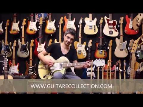GUITARE COLLECTION presents Wandre BB1 Candlelight Smoke from 1960's by Nico Poges