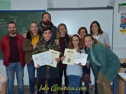 "Entrega en Isla Cristina del I premio Concurso Literario ""MI CARNAVAL"""