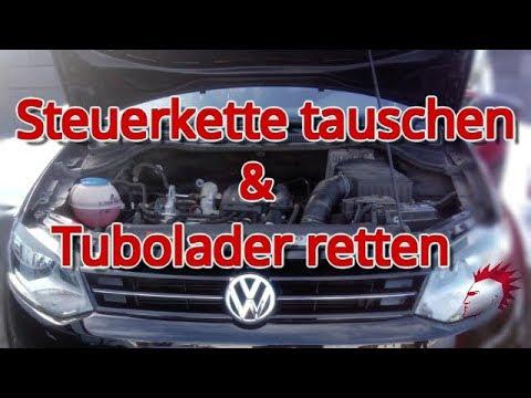 Was ist bei Steuerkette tauschen Polo 6R 1,2 TSI zu beachten? Turbolader retten bei Polo 6R