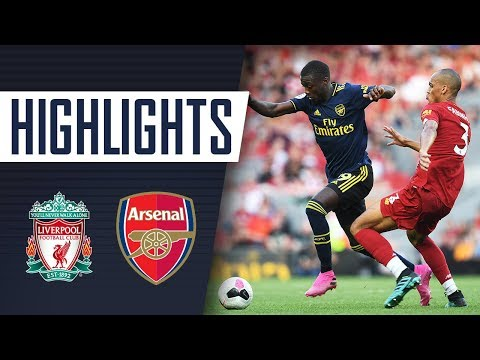 HIGHLIGHTS | Liverpool 3 - 1 Arsenal | Aug 24, 2019