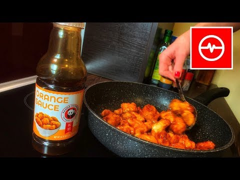 Homemade Orange Chicken by Panda Express