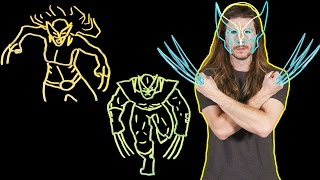 Why X-23's Claws Are Deadlier Than Wolverine's! (Because Science w/ Kyle Hill)