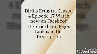 Nonton Dirilis Ertugrul Season 4 Episode 17 Film Subtitle Indonesia Streaming Movie Download