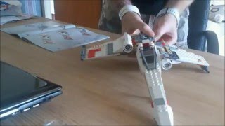Lego Star Wars X-Wing Fighter (9493) Time Lapse