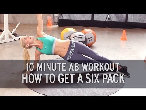 XHIT - 10 Minute Ab Workout: How to Get a Six Pack