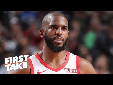 Video: The 76ers should get Chris Paul and make him their floor general - Ryan Hollins | First Take