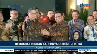 Video Sah ! Demokrat Izinkan Kadernya Dukung Jokowi-Ma'ruf ! MP3, 3GP, MP4, WEBM, AVI, FLV April 2019