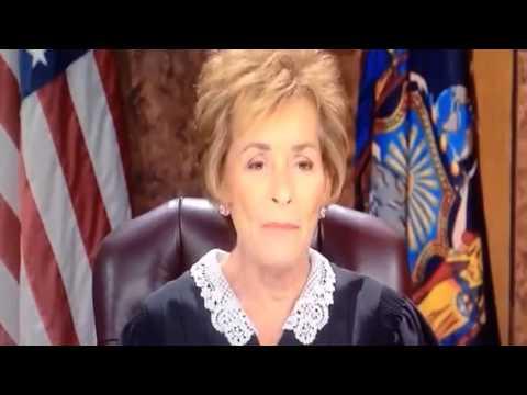 JUDGE JUDY CRACKS UP LAUGHING!