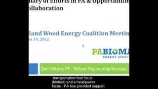 Panel Discussion: Creating a Biomass Industry Association in Maryland, part 2