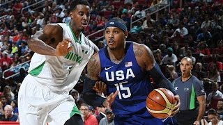 Kevin Durant, Carmelo Anthony and the United States basketball team play Nigeria in this preparation game for the 2016 Rio Olympics. Played in Houston's Toyota Center. Full match in English.👍 and subscribe for more international basketball videos ► http://bit.ly/SubWorldBasketballBox score ► http://www.usab.com/news-events/live-stats/2016/07/box-score-2016-mnt-showcase-game-usa-vs-nigeria.aspx
