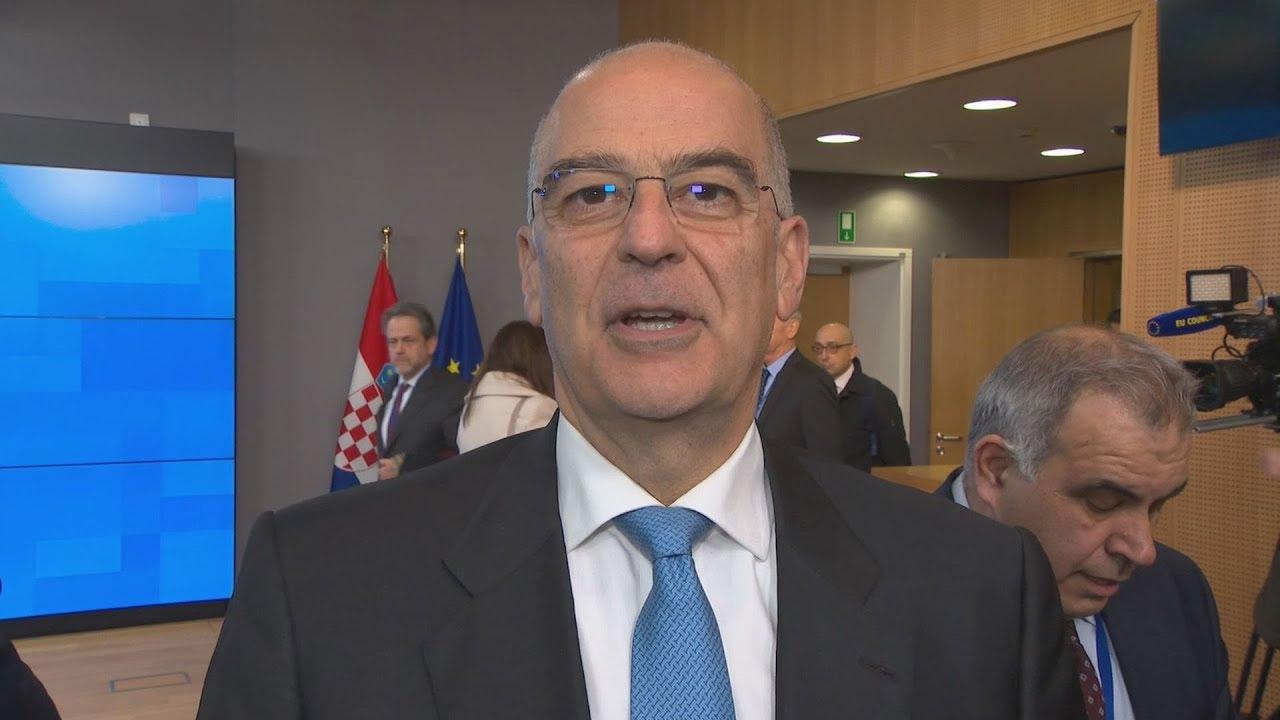 Ν. Δένδιας: Η Ελλάδα αναμένει να συμπεριληφθεί στα επόμενα στάδια της διαδικασίας του Βερολίνου