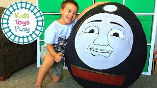 Video Thomas and Friends GIANT Surprise Egg Compilation! MP3, 3GP, MP4, WEBM, AVI, FLV Juni 2019