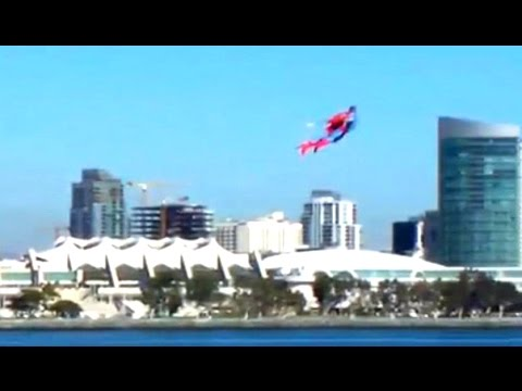 RC Superman over San Diego by Otto Dieffenbach