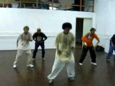 Housedance комбинация движений
