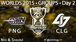 Pain Gaming vs Counter Logic Gaming - World Championship 2015 - Phase de groupes - 02/10/15