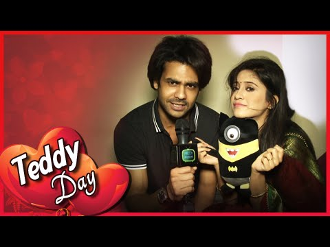 Lakhan Gives Poonam A Teddy | Teddy Day | Valentin