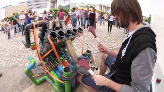 Video Awesome Pipe-Drummer | PipeDrumz | Neon Pipe Drummer MP3, 3GP, MP4, WEBM, AVI, FLV Mei 2017