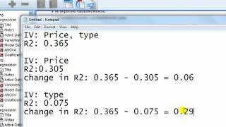 SPSS For Newbies: Ranking IVs Importance In Regression